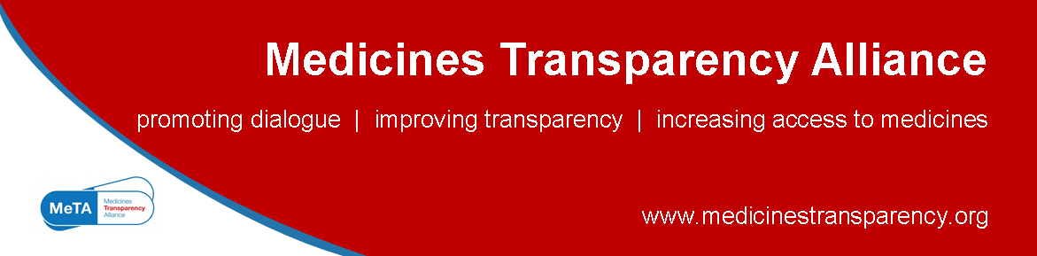 Medicines Transparency Alliance Graphic